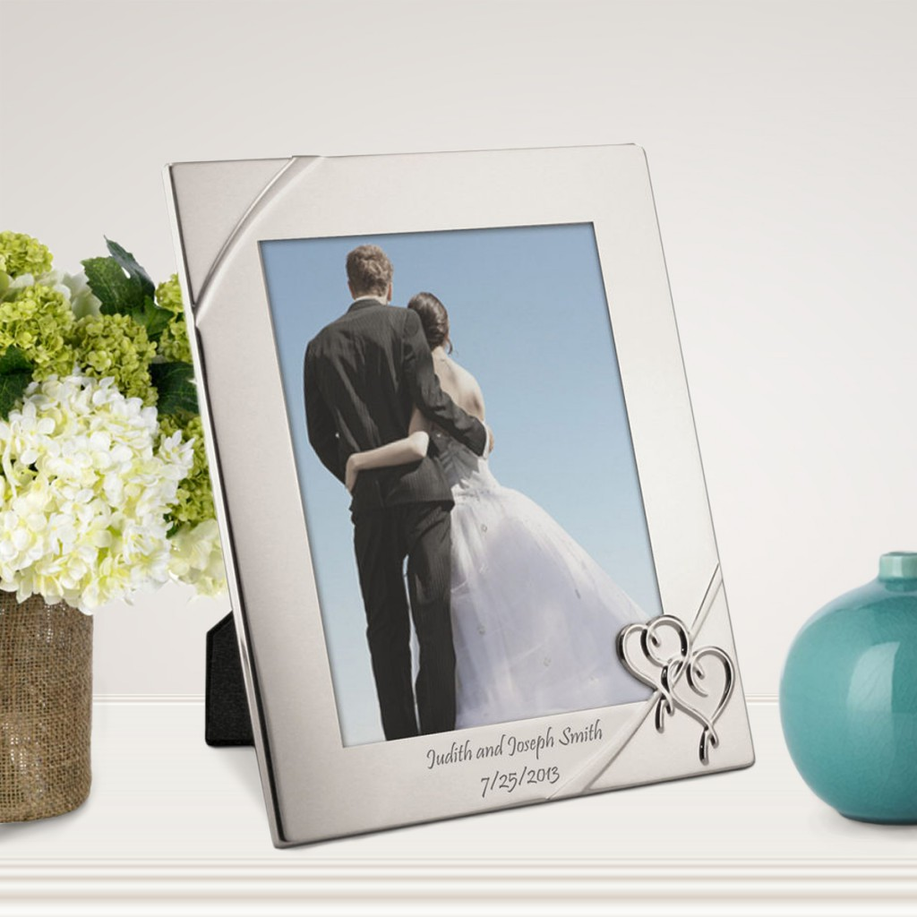 Personalized 10th Anniversary Gifts   8x10 Picture Frame