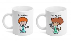 Custom Character Doctor's Mug