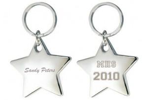 Star Graduate Keychain
