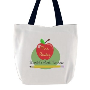 Worlds Best Teacher Tote Bag