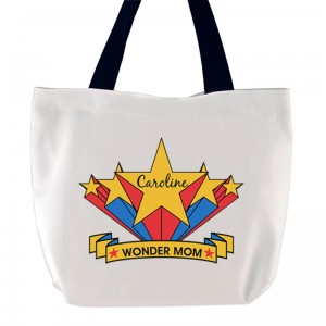Wonder Mom Tote Bag
