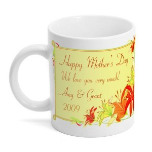 Mothers Day Lily Coffee Mug