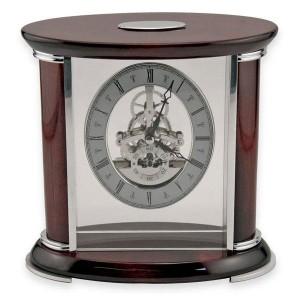 Rosewood Mantle Clock