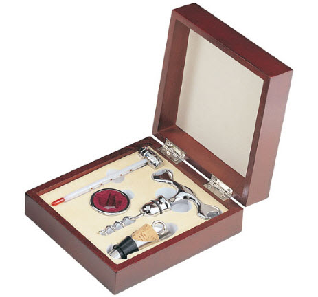 Complete Personalized Gift Wine Set