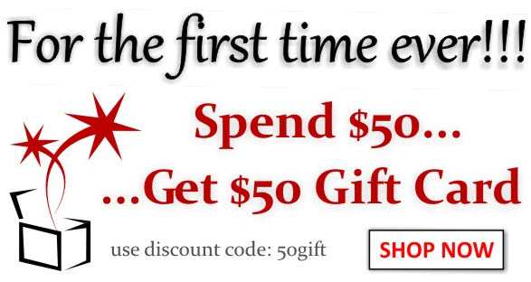 Spend $50 Get $50 Gift Card