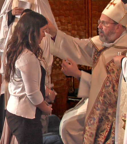 Confirmation - anointing
