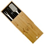Personalized Grill Master BBQ Gift set for him