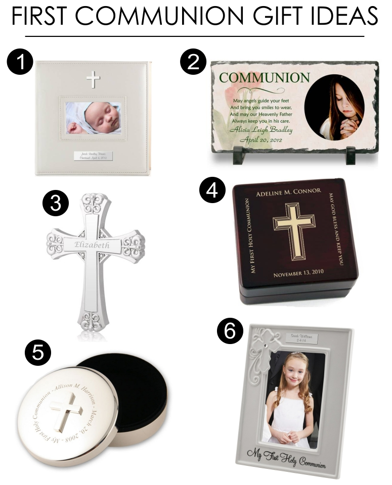 What is an appropriate gift for a First Holy Communion?