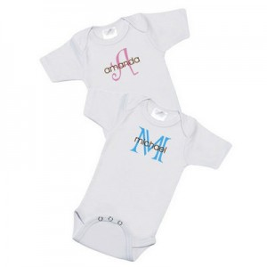 Personalized Baby Name Bodysuit