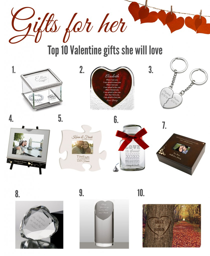 Ten Inspirational Valentine S Day Gifts For Her 2018