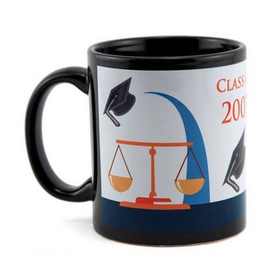 Black Law School Graduation Mug