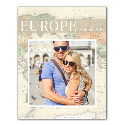 Personalized Travel Memories 11x14 Photo Print