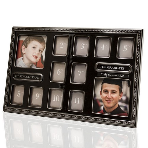 12 Year Personalized Graduation Picture Frame