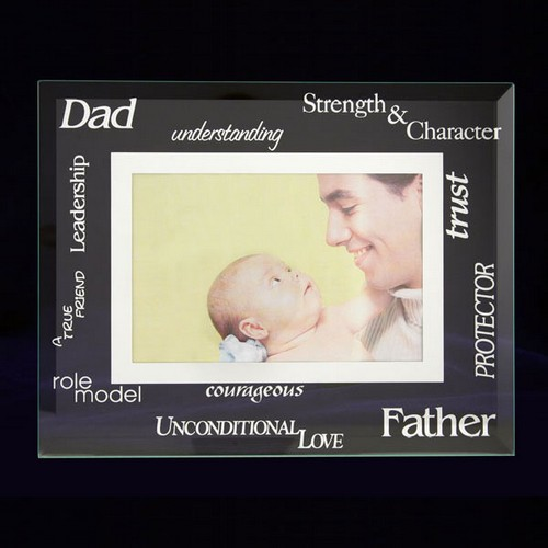 Glass Picture Frame for Dad