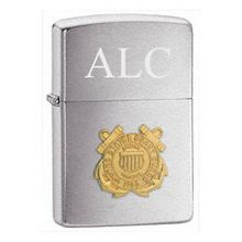 Coast Guard Emblem Zippo Lighter