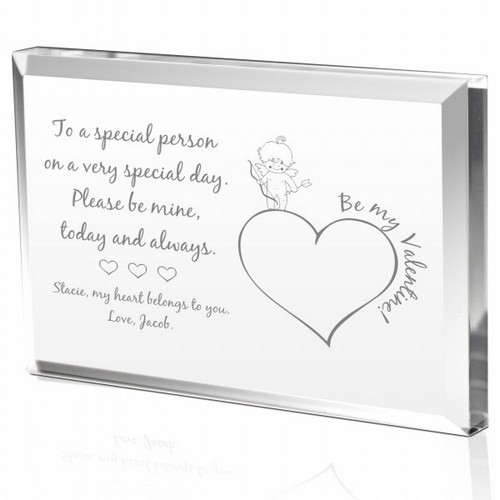 Cupid Valentines Day Gift Plaque