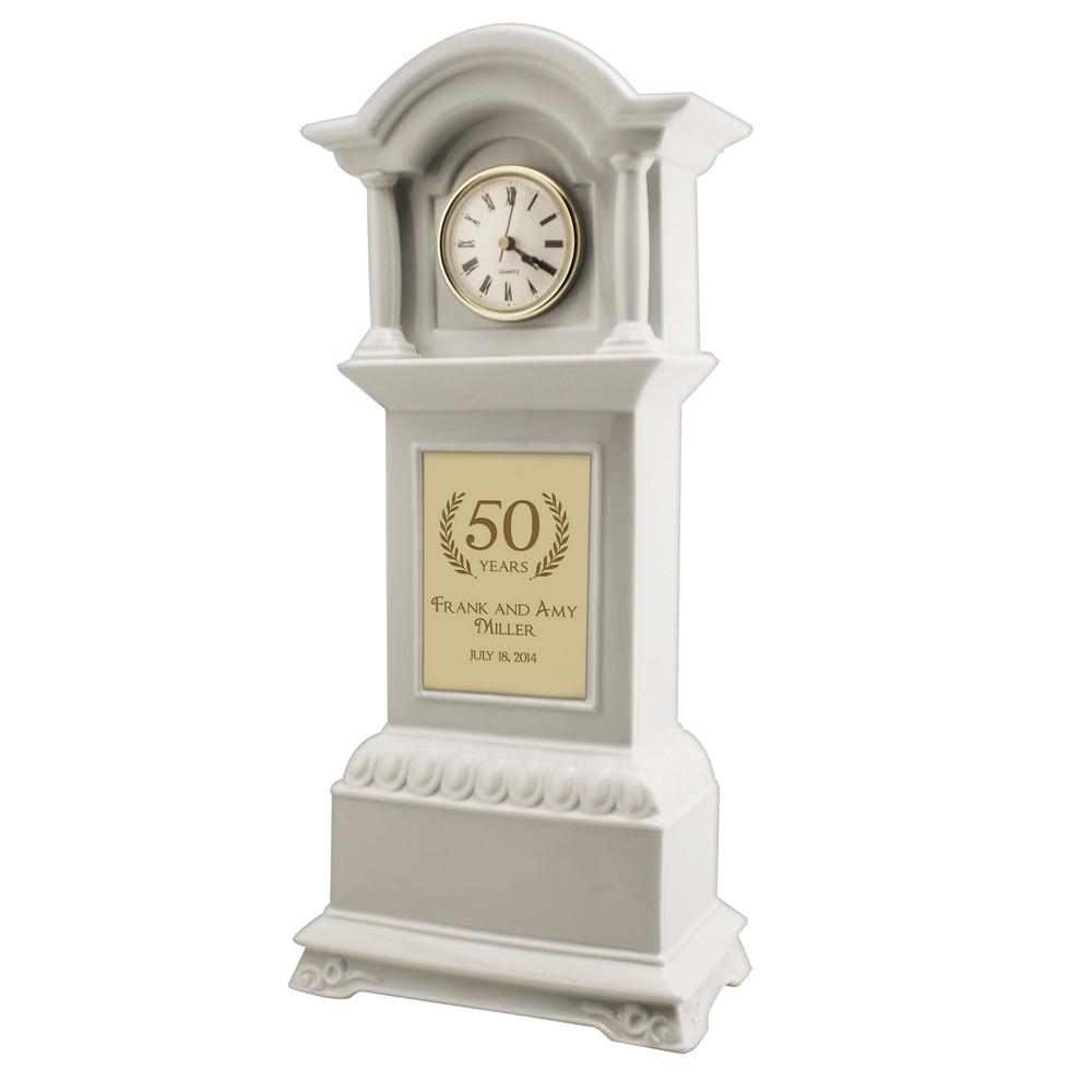50th Anniversary Personalized Tall Grandfather Clock