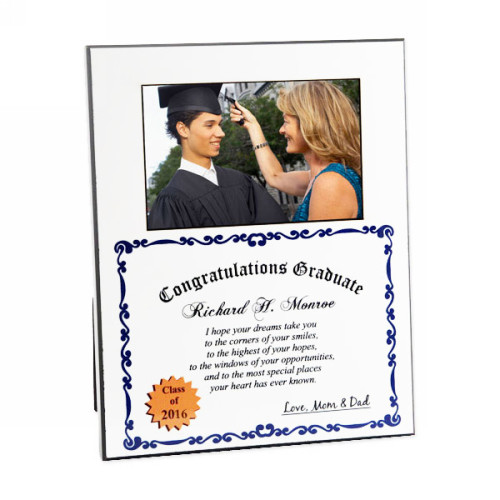 Personalized Graduation Diploma Photo Frame