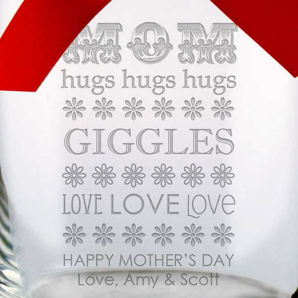 Personalized Candy Jar For Mom