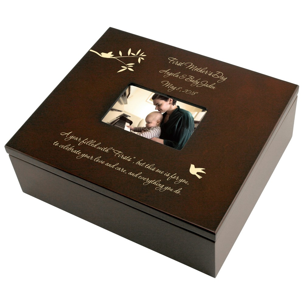 First Mothers Day Personalized Keepsake Box Keepsake