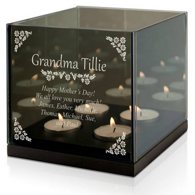 Grandmother Personalized Tealight Candle Holder