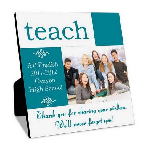 Engraved Photo Frame for Teacher