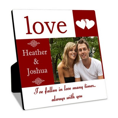 Personalized Couples Photo Panel