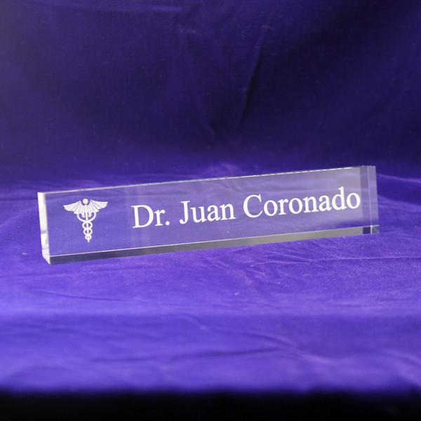 Excellent Medical Office Desk Nameplate | Personalized Doctors Office Name  ZZ72