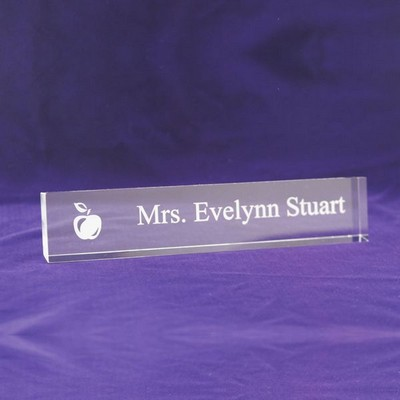 Teachers Acrylic Nameplate