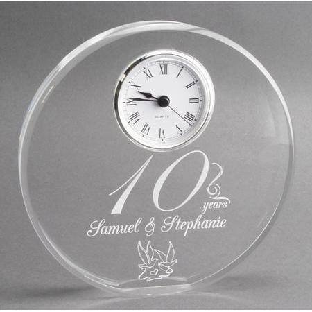 & 10th Year Anniversary Gift Clock