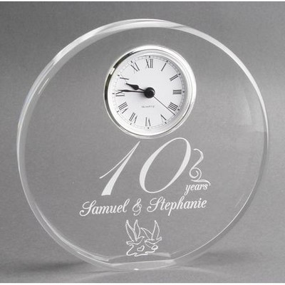 10th Year Anniversary Gift Clock