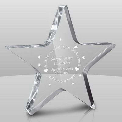 Shining Star Baby Keepsake