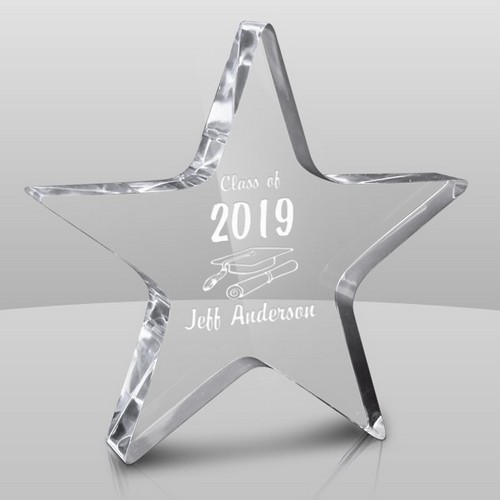 Star-Shaped Personalized Graduation Award