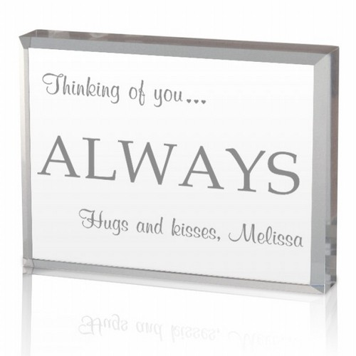 Thinking of You Acrylic Keepsake