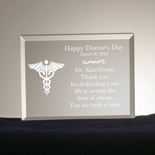 Doctors Day Personalized Plaque
