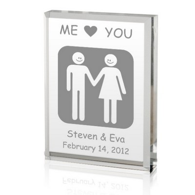 You and Me Love Plaque