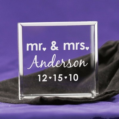 Mr and Mrs Tiny Treasures Keepsake