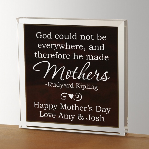 Personalized Paperweight for Mom | Engraved Mother's Day ...