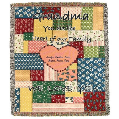 Grandma Heart of the Family Tapestry