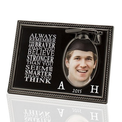 Always Remember Monogrammed Graduate Picture Frame