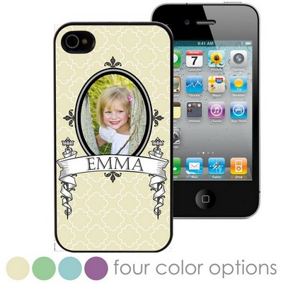 Antique Framed Personalized Photo Case for iPhone