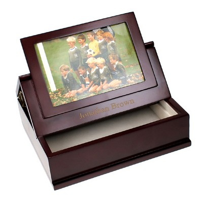 Framed Photo Stationery Box