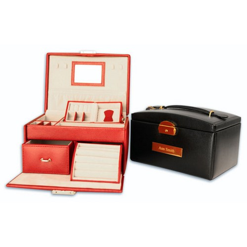 Leather Touring Jewelry Case