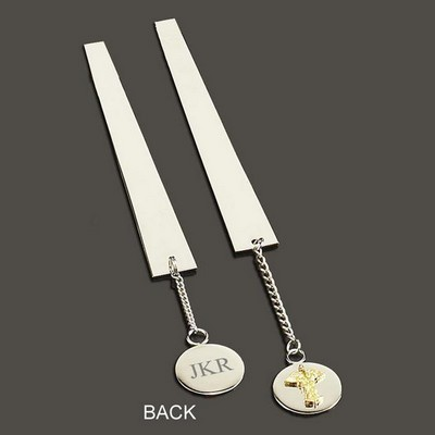 Medical Caduceus Charm Bookmark
