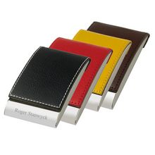 Personalized Designer Vertical Business Card Holder