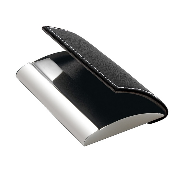 Personalized Designer Leatherette Business Card Holder