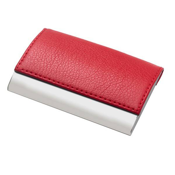 Personalized designer leatherette business card holder colourmoves