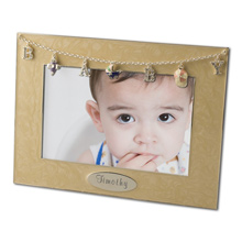 Baby Charm Personalized 4x6 Photo Frame