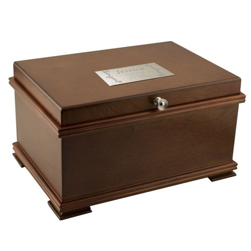 Bailey Classic Personalized Jewelry Chest