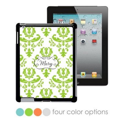 Beautiful Brocade Personalized iPad Case